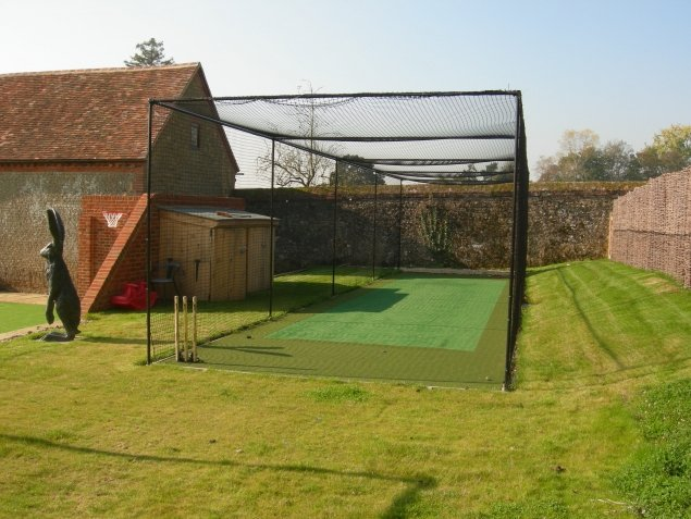 Cricket Batting End, Chilworth Manor