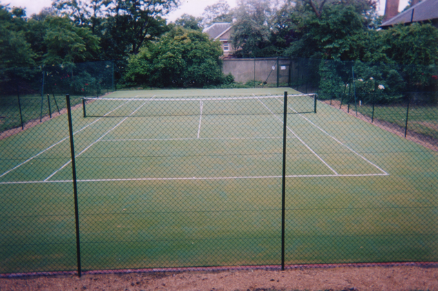 ProLawn Tennis Court dressed with rubber granules