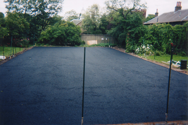 Porous macadam base-course