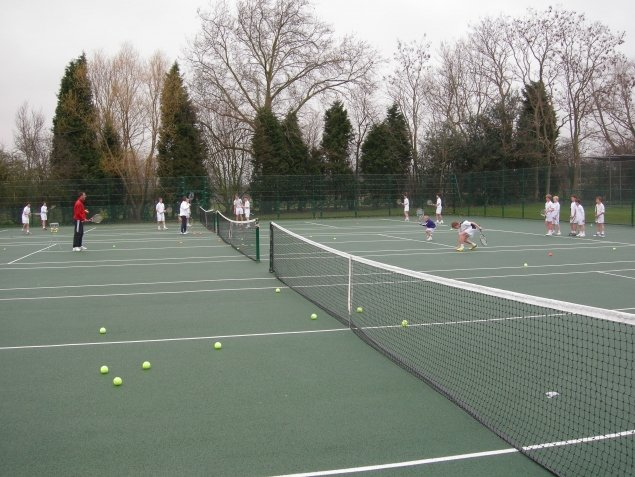 Parkside School Multiuse area, Cobham, Surrey